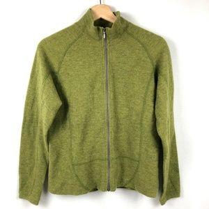 Ibex Women's Full Zip Sweater Merino Wool